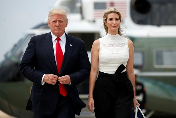 Самое интересное об Иванке Трамп, 25 фото