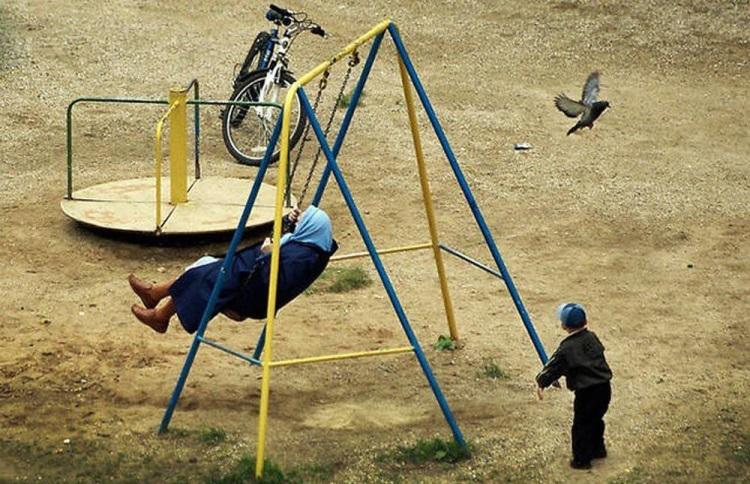 Когда тебе далеко за 40, а в душе ты все еще ребенок: 50 смешных фото