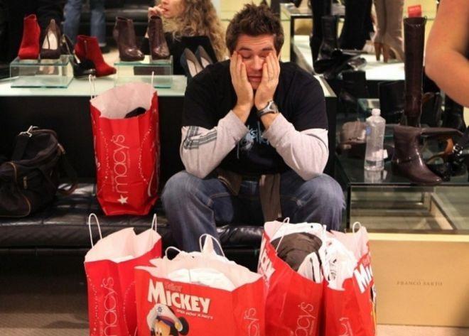 25 доказательств того, что мужчины и шопинг - понятия несовместимые