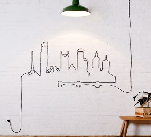 Как замаскировать розетки и провода в интерьере: 20 лучших идей с фото
