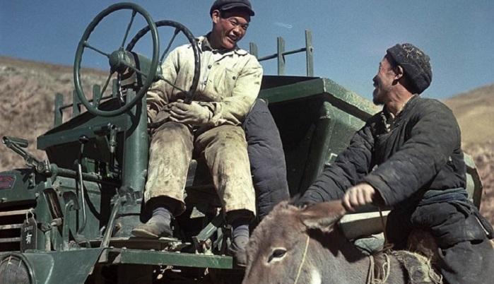 21 постановочная фотография советской жизни