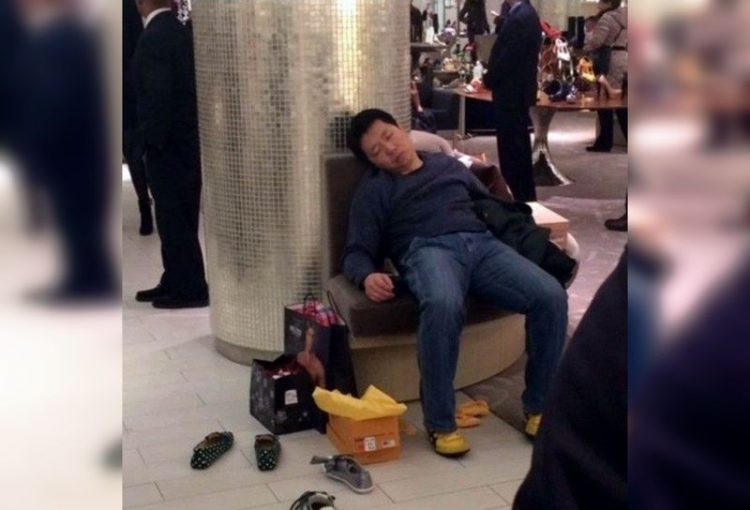 Мужчины и шопинг
