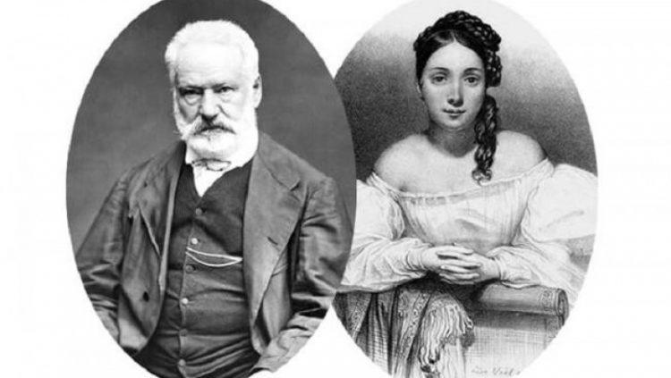 Виктор Гюго и Жульетта Друэ