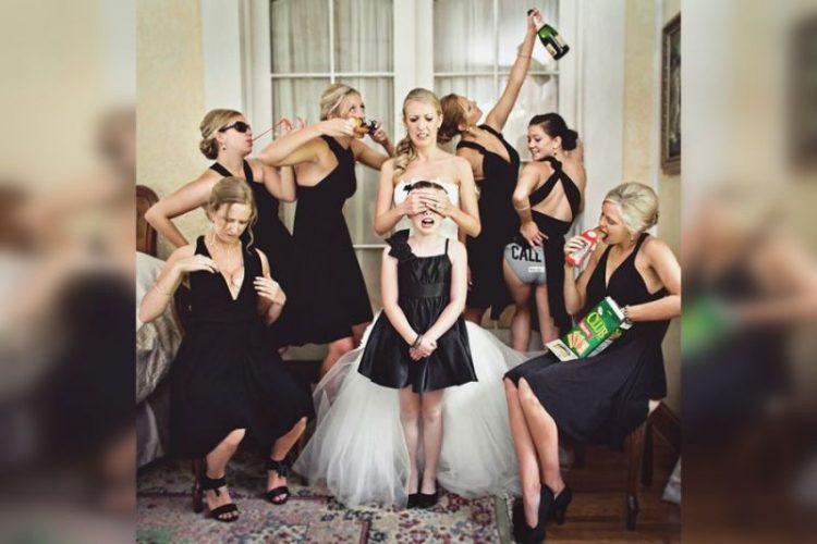 Очень смешные свадебные фото (часть 1)
