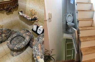 странные ванные комнаты
