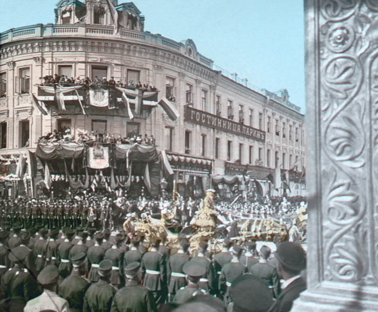 Русский быт конца XIX - начала XX века в цвете: 30 отборных снимков