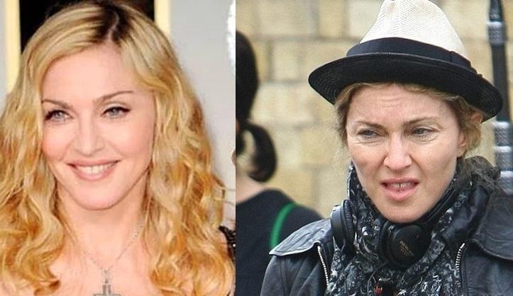 Как выглядят отечественные и голливудские звезды без макияжа