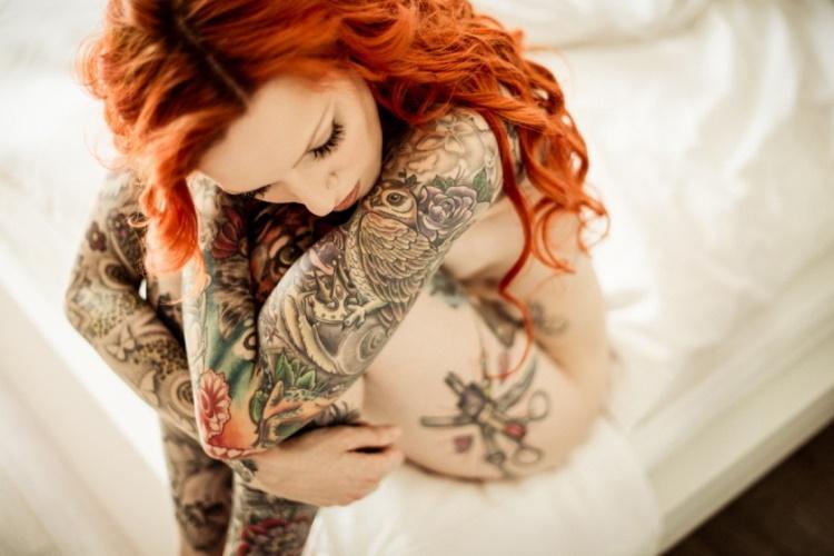 30 шикарных фото девушек с раскрашенными телами